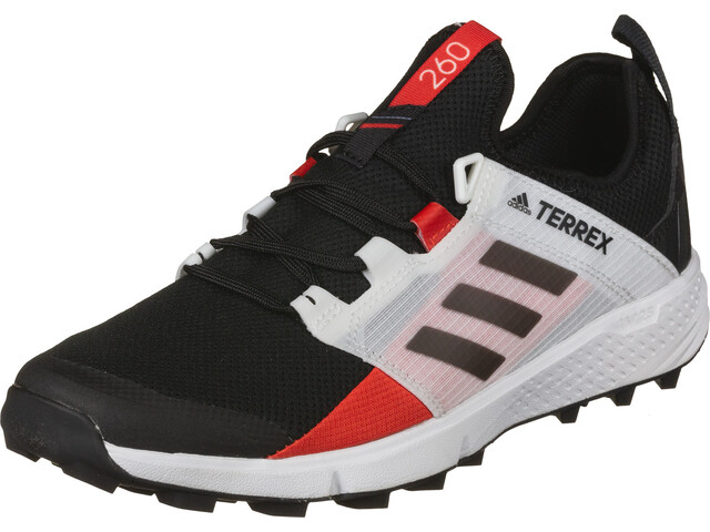 adidas TERREX Speed LD Chaussures de trail Léger Homme, core black/core black/active red